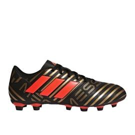 Adidas Buty piłkarskie adias Nemeziz Messi 17.4 FxG M CP9046 wielokolorowe czarne