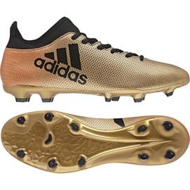 Buty piłkarskie adidas X 17.3 Fg M CP9190 wielokolorowe wielokolorowe