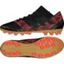 Buty piłkarskie adidas Nemeziz 17.3 Ag M CP8994 czarne czarny