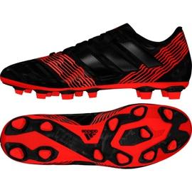 Buty piłkarskie adidas Nemeziz 17.4 FxG M CP9006 wielokolorowe czarne