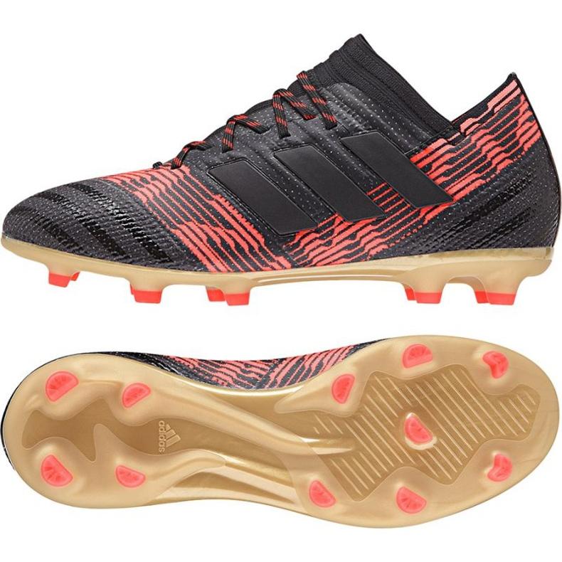 Buty piłkarskie adidas Nemeziz 17.1 Fg Jr CP9152 czarne