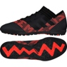 Buty piłkarskie adidas Nemeziz Tango 17.3 Tf M CP9098 czarny, złoty, czerwony czarne