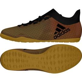 Buty halowe adidas X Tango 17.3 In M CP9139 wielokolorowe złoty