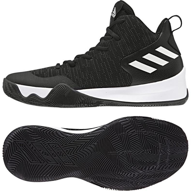 Buty koszykarskie adidas Explosive Flash czarne