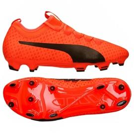 Buty piłkarskie Puma Evo Power Vigor 3 Fg M 104297 01 czerwone wielokolorowe