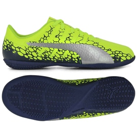 Buty piłkarskie Puma Evo Power Vigor 4 Graph It Jr 104467 02
