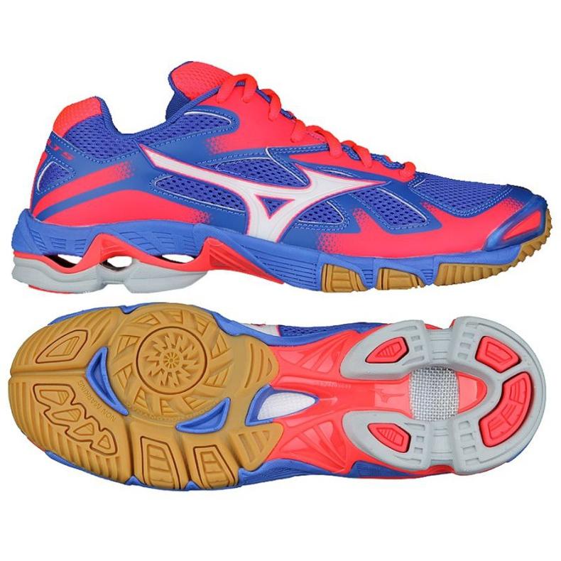 Buty do siatkówki Mizuno Wave Bolt 5 W niebieskie