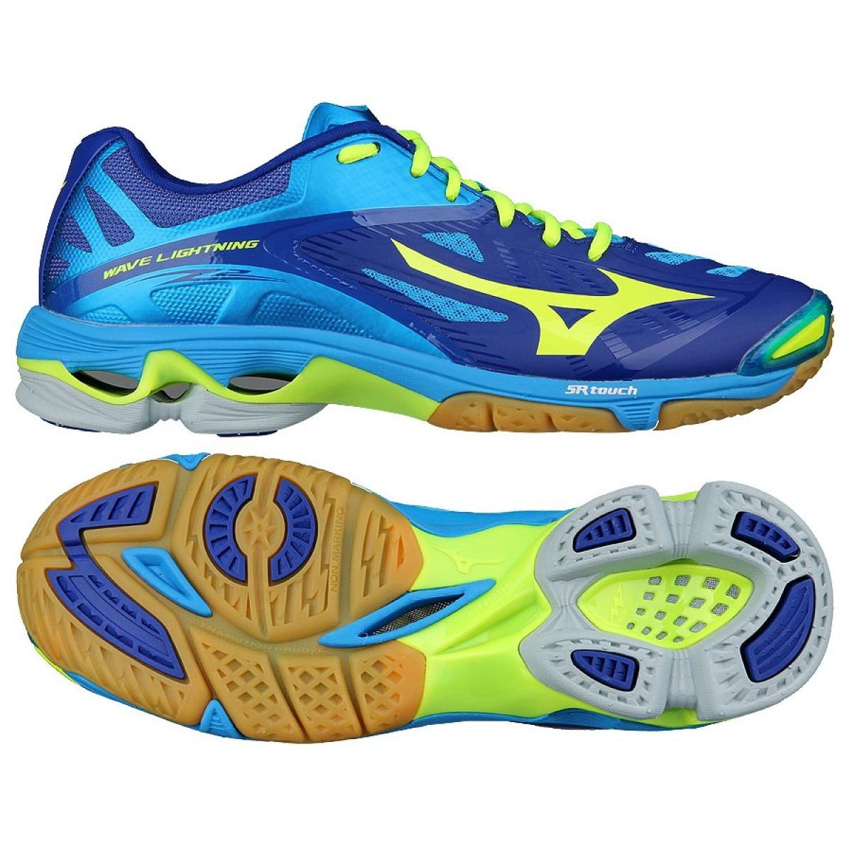 super promocje najniższa cena bardzo tanie Buty do siatkówki Mizuno Wave Lightening Z2 M V1GA160043 niebieskie  niebieski