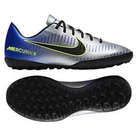 Buty piłkarskie Nike MercurialX Victory Vi Neymar Tf Jr 921494-407 niebieskie wielokolorowe