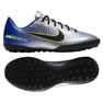 Buty piłkarskie Nike MercurialX Victory Vi Neymar Tf Jr 921494-407 niebieski, szary/srebrny niebieskie