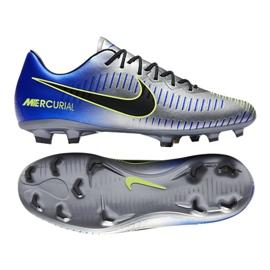 Buty piłkarskie Nike Mercurial Vapor Xi Neymar Fg Jr 940855-407 wielokolorowe niebieskie