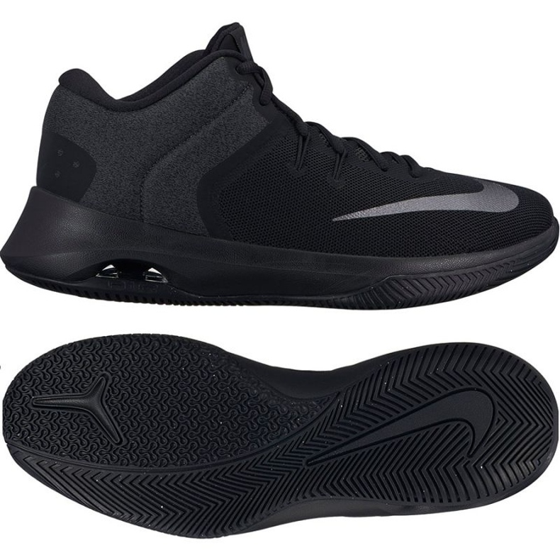 Buty koszykarskie Nike Air Versitile Ii czarne