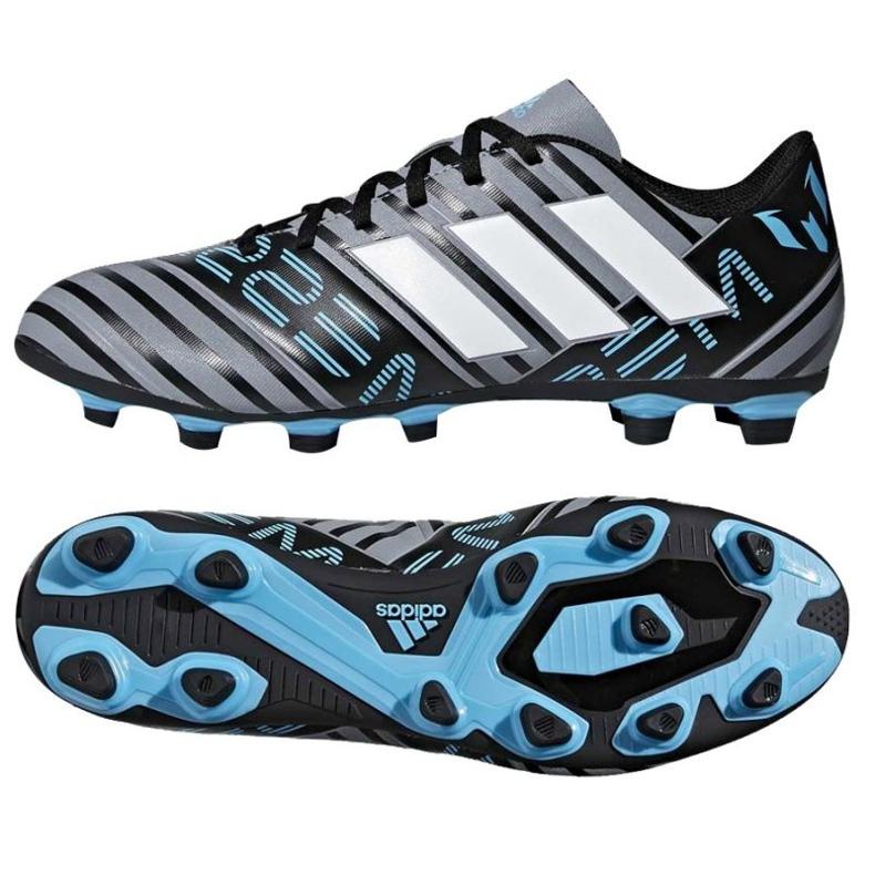 Buty piłkarskie adidas Nemeziz Messi 17.4 FxG M CP9047 czarne czarne