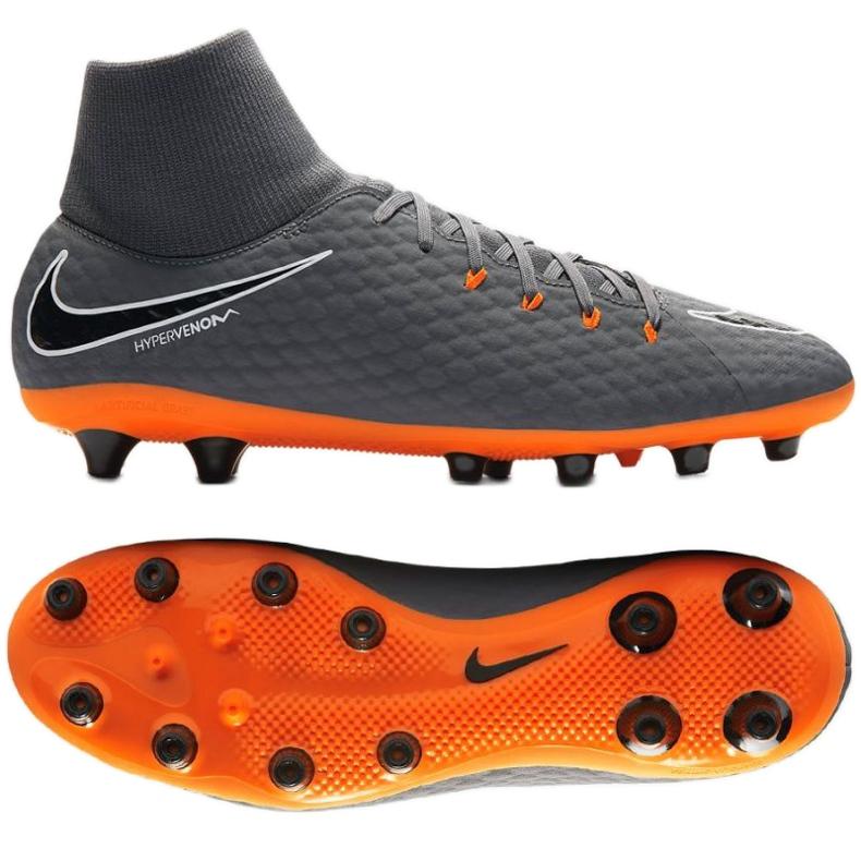 Buty piłkarskie Nike Hypervenom Phantom 3 szare