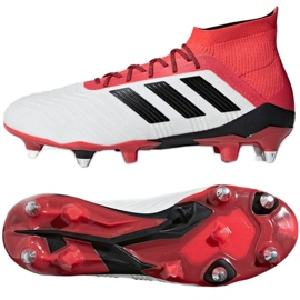 Buty piłkarskie adidas Predator 18.1 SG M CP9261 białe