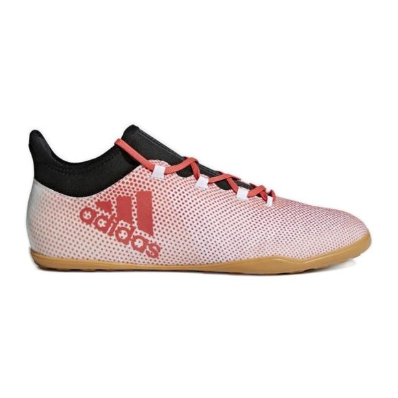 Buty halowe adidas X Tango 17.3 In M CP9140 białe biały, czerwony