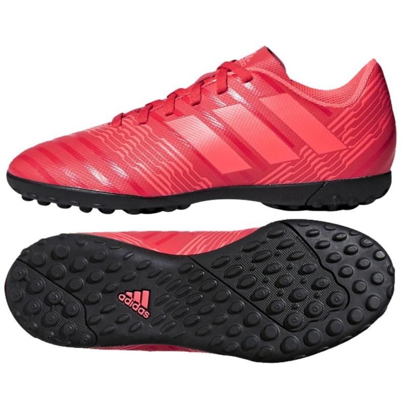 Buty piłkarskie adidas Nemeziz Tango 17.4 Tf Jr CP9215 czerwone wielokolorowe