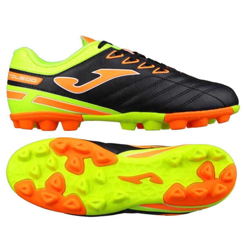 Buty piłkarskie Joma Toledo Fg Jr TOLJS.801.24 czarne czarne