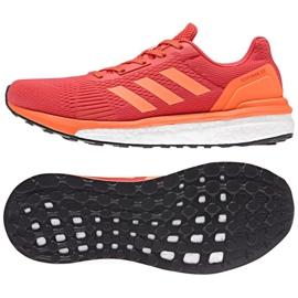 Buty biegowe adidas response W CP8685 czerwone