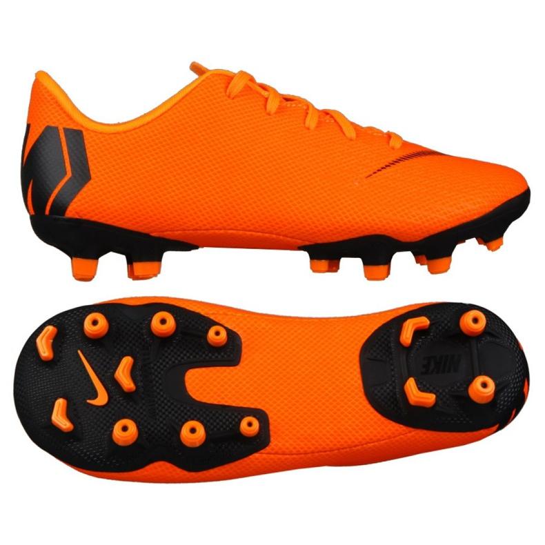 Buty piłkarskie Nike Mercurial Vapor 12 Academy Ps Mg Jr AH7349-810 pomarańczowe pomarańczowe