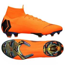 Buty piłkarskie Nike Superfly 6 Elite Fg pomarańczowe