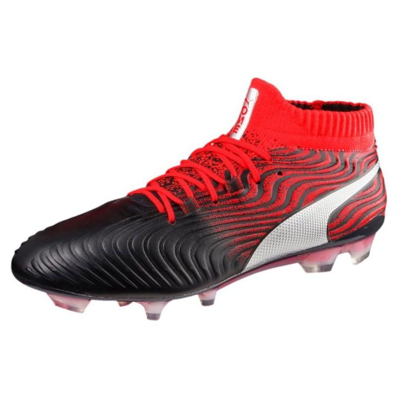 Buty piłkarskie Puma One 18.1 Syn Fg M 104869 01 czarne wielokolorowe