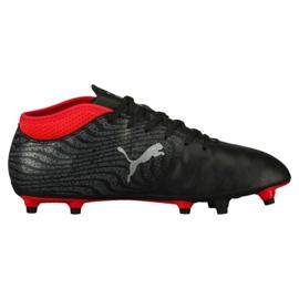Buty piłkarskie Puma One 18.4 Fg M 104556 01 czarne czarne