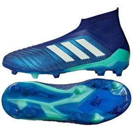 Buty piłkarskie adidas Predator 18+ Fg niebieskie