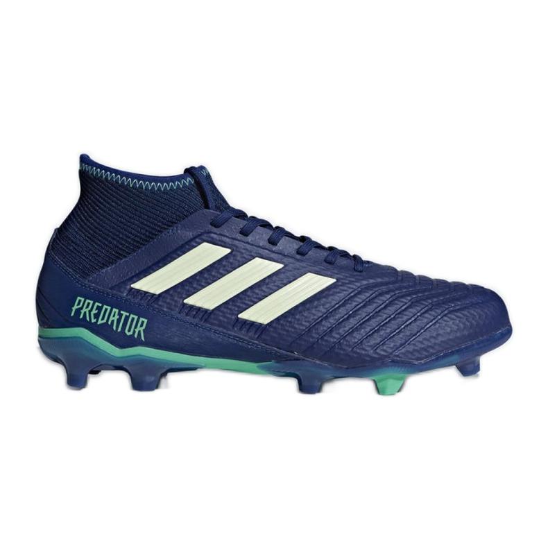 Buty piłkarskie adidas Predator 18.3 Fg M CP9304 niebieskie niebieskie