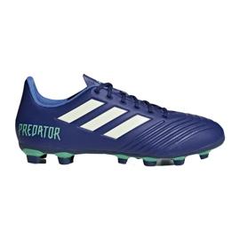 Buty piłkarskie adidas Predator 18.4 FxG M CP9267 niebieskie wielokolorowe