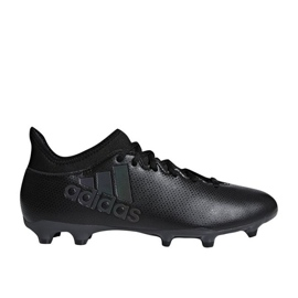Buty piłkarskie adidas X 17.3 Fg M CP9193 czarne czarne