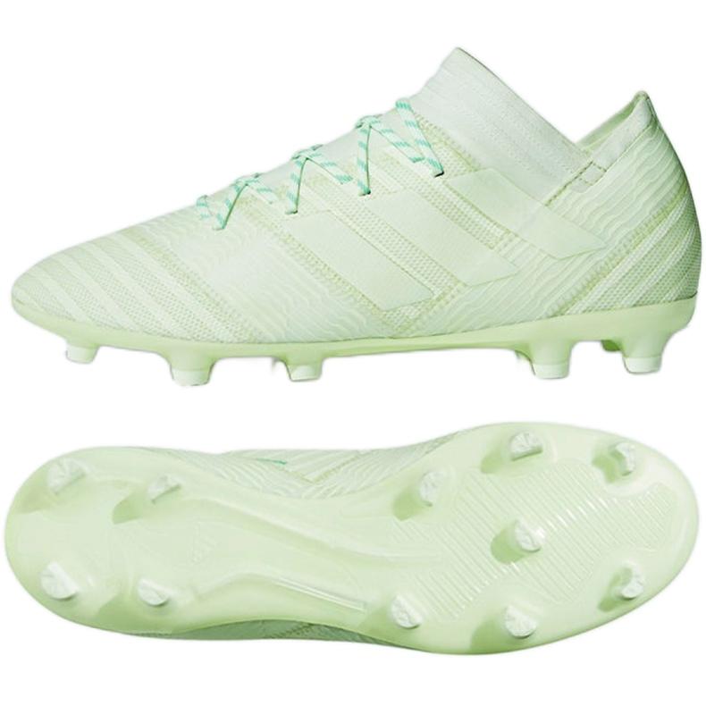 Buty piłkarskie adidas Nemeziz 17.2 Fg M CP8973 wielokolorowe zielone