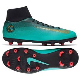 Buty piłkarskie Nike Mercurial Superfly 6 Club CR7 Mg AJ3545-390 niebieskie wielokolorowe