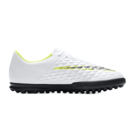 Buty piłkarskie Nike Hypervenom Phantomx 3 Club Tf Jr AJ3790-107 białe wielokolorowe