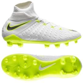 Buty piłkarskie Nike Hypervenom Phantom 3 Elite Dynamic Fit Fg Jr AJ3791-107 białe białe