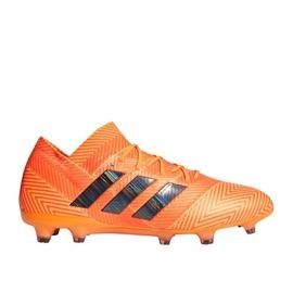 Buty piłkarskie adidas Nemeziz 18.1 pomarańczowe