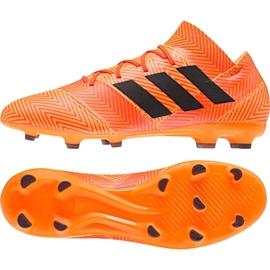 Buty piłkarskie adidas Nemeziz 18.2 Fg M DA9580