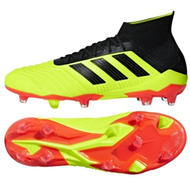 Buty piłkarskie adidas Predator 18.1 FG M DB2037 ż ó