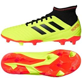 Buty piłkarskie adidas Predator 18.3 Fg M DB2003 żółte żółte