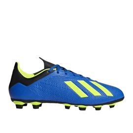Buty piłkarskie adidas X 18.4 FG M DA9336 granatowe