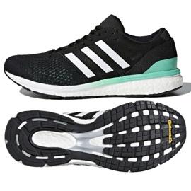 Czarne Buty biegowe adidas Boston 6 W BB6421