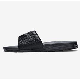 Czarne Klapki Nike Benassi Solarsoft Slide 705474-091