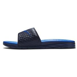 Klapki Nike Benassi Solarsoft Slide 705474-440 czarne