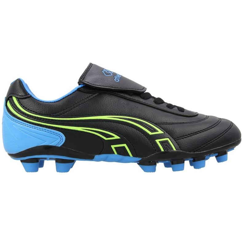 Buty piłkarskie Atletico Fg XT041-9820 czarne czarny, czarny
