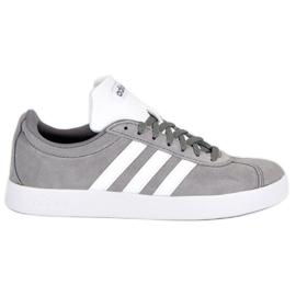 Szare Adidas Vl Court 2.0 B43807