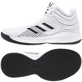 Buty koszykarskie adidas Pro Sprak 2018 M B44966 białe białe