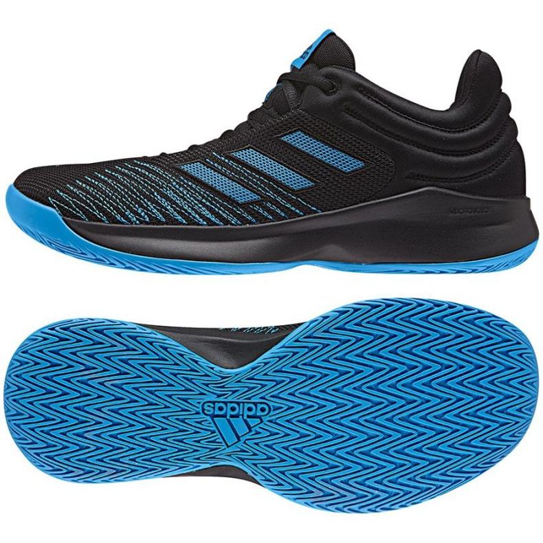 Buty koszykarskie adidas PRO Spark Low 2018 M AC8518 czarne