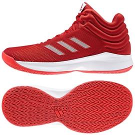 Buty koszykarskie adidas Pro Sprak 2018 M czerwone