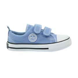 American Club American trampki tenisówki buty dziecięce niebieskie
