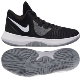 Buty koszykarskie Nike Air Precision Ii M AA7069-001 czarne czarne